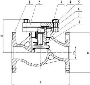 16с11п клапан обратный