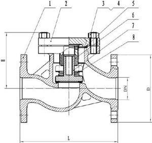 16с13п клапан обратный
