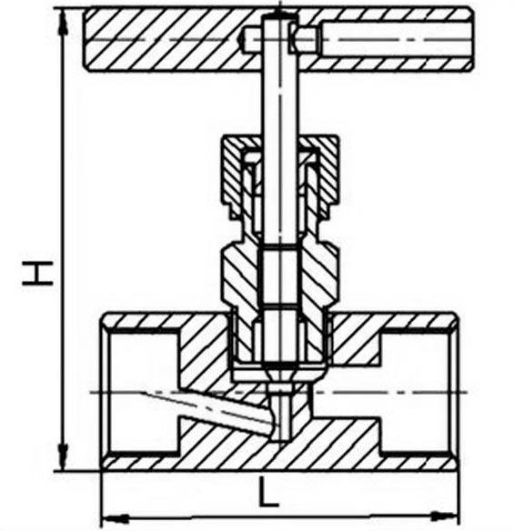 15с54бк клапан игольчатый