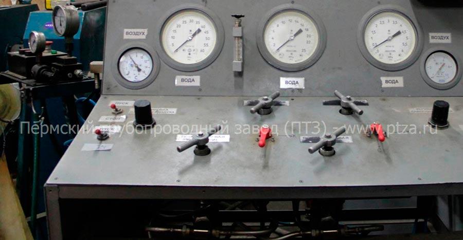 гидравлические испытания запорной арматуры