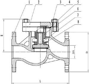16лс13нж клапан обратный