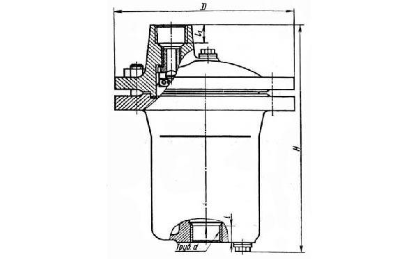 45ч13нж конденсатоотводчик поплавковый
