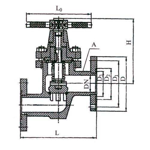 14с17ст клапан запорный сильфонный